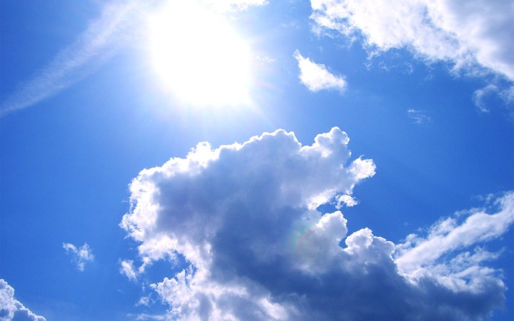 Sun And Clouds Wallpapers (9)